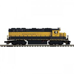 MTH20212011 MTH Electric Trains O-27 GP40 w/PS3 Hi-Rail, NYS&W #3040