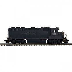 MTH20212021 MTH Electric Trains O-27 GP40 w/PS3 Hi-Rail, NYS&W #3042