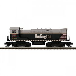 MTH20212201 MTH Electric Trains O-27 VO 1000 w/PS3, CB&Q #9351 507-20