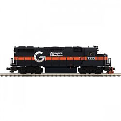 MTH20212291 MTH Electric Trains O GP38-2 w/Snd D&H 7323 507-20212291