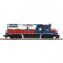 MTH20212321 MTH Electric Trains O-27 GP38-2 w/PS3 Hi-Rail, CTXR #2223