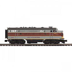 MTH20212341 MTH Electric Trains O-27 F7 A w/PS3 Hi-Rail, EL #6361 507