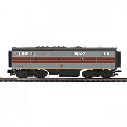 MTH20212343 MTH Electric Trains O-27 F-7 B-Unit Dummy Diesel, EL #636