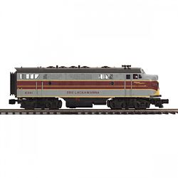 MTH20212344 MTH Electric Trains O-27 F7 A Dummy Hi-Rail, EL #6341 507