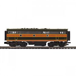 MTH20212363 MTH Electric Trains O-27 F7 B Dummy, GN #307B 507-2021236