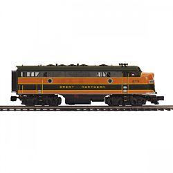 MTH20212364 MTH Electric Trains O-27 F7 A Dummy Hi-Rail, GN #273A 507