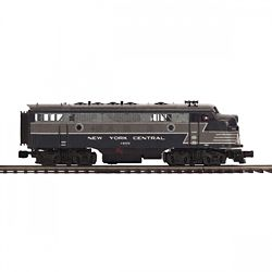 MTH20212381 MTH Electric Trains O-27 F7 A w/PS3 Hi-Rail, NYC #1655 50