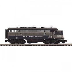 MTH20212384 MTH Electric Trains O-27 F7 A Dummy Hi-Rail, NYC #1657 50