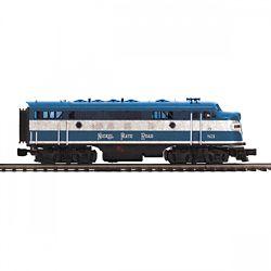 MTH20212391 MTH Electric Trains O-27 F7 A w/PS3 Hi-Rail, NKP #83 507-