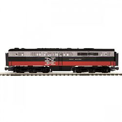 MTH Electric Trains MTH20212423 O-27 Alco PA B Dummy, NH #769 507-202