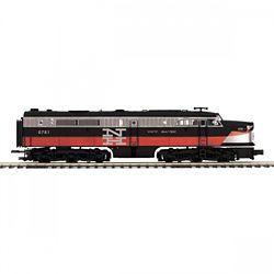 MTH20212434 MTH Electric Trains O-27 Alco PA A Dummy Hi-Rail, NH #781
