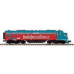 MTH Electric Trains MTH20212494 O-27 E8 A Dummy, RI #650 507-20212494