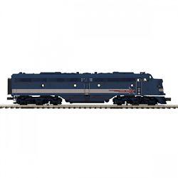 MTH Electric Trains MTH20212511 O-27 E8 A w/PS3 Hi-Rail, EMD #766 507
