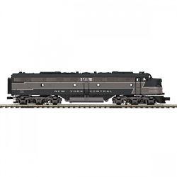 MTH Electric Trains MTH20212531 O-27 E8 A w/PS3 Hi-Rail, NYC #4080 50