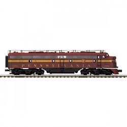 MTH Electric Trains MTH20212551 O-27 E8 A w/PS3 Hi-Rail, PRR #5809 50