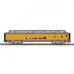 MTH Electric Trains MTH2064093 O 70' SS SL Full Length Vista Dome Pas