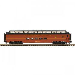 MTH Electric Trains MTH2064098 O 70' SS SL Full Length Vista Dome Pas