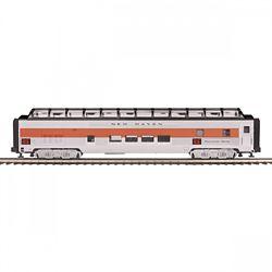 MTH Electric Trains MTH2064113 O 70' SLFull Length Vista Dome Pass Ca