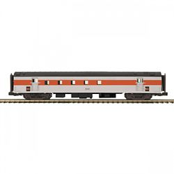 MTH Electric Trains MTH2064114 O 70' SL Ribbed RPO Passenger Car, NH