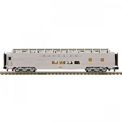MTH Electric Trains MTH2064118 O 70' Ribbed SL Full Length Vista Pass