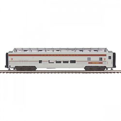MTH Electric Trains MTH2064123 O 70' Ribbed SL Full Length Vista Pass