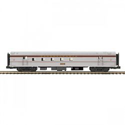 MTH Electric Trains MTH2064124 O 70' Ribbed SL RPO Pass Car, PRR 507-
