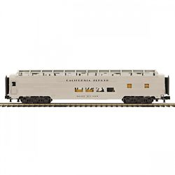 MTH Electric Trains MTH2064128 O 70' Ribbed SL Full Length Vista Pass