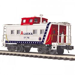 MTH Electric Trains MTH2091663 O Steel Center Cupola Caboose, ARR 507