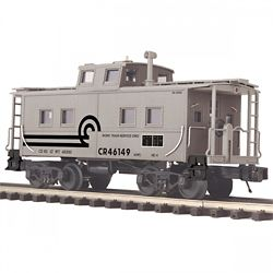 MTH Electric Trains MTH2091664 O Steel Center Cupola Caboose, CR 507-