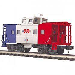MTH Electric Trains MTH2091665 O Steel Center Cupola Caboose, MGA 507