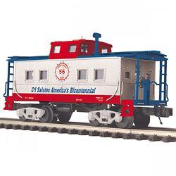 MTH Electric Trains MTH2091666 O Steel Center Cupola Caboose, C&I 507
