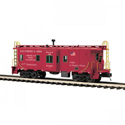 MTH Electric Trains MTH2091667 O Bay Window Caboose, CSX 507-2091667