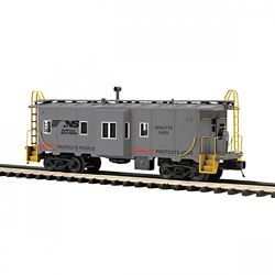 MTH Electric Trains MTH2091668 O Bay Window Caboose, NS 507-2091668