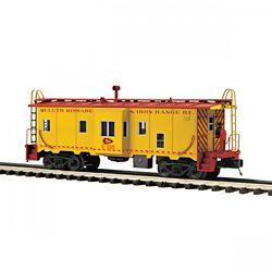 MTH Electric Trains MTH2091669 O Bay Window Caboose, DM&IR 507-209166