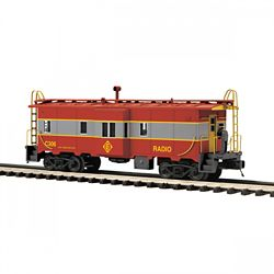 MTH Electric Trains MTH2091670 O Bay Window Caboose, EL 507-2091670