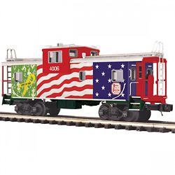 MTH Electric Trains MTH2091671 O Extended Vision Caboose, KCS 507-209