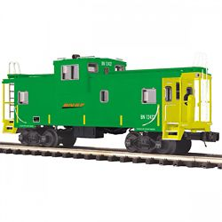 MTH Electric Trains MTH2091672 O Extended Vision Caboose, BNSF 507-20