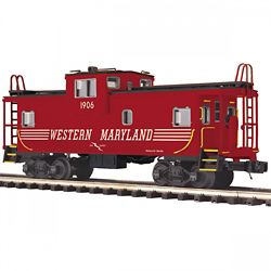 MTH Electric Trains MTH2091673 O Extended Vision Caboose, WM 507-2091