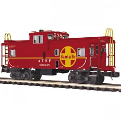 MTH Electric Trains MTH2091674 O Extended Vision Caboose, SF 507-2091