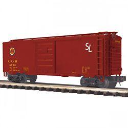 MTH Electric Trains MTH2093775 O 40' Box, CGW 507-2093775