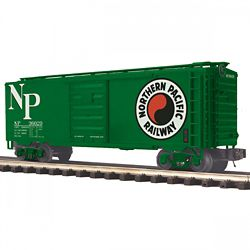 MTH Electric Trains MTH2093776 O 40' Box, NP 507-2093776