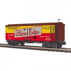 MTH 20-94436 O 36' Woodsided Reefer Car Muessel Brewing Co #420
