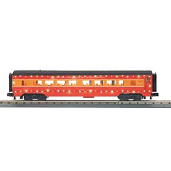 MTH3068042 MTH Electric Trains O-27 60' Streamline Coach w/LED Lights, SP