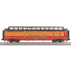 MTH 3068043 O-27 60' Streamline Full Vista Dome w/LED SP