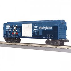 MTH 3074975 O-27 Box w/Blinking LEDs WECX