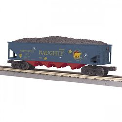 MTH 3075636 O-27 4-Bay Hopper North Pole