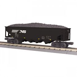 MTH 3075637 O-27 4-Bay Hopper NS