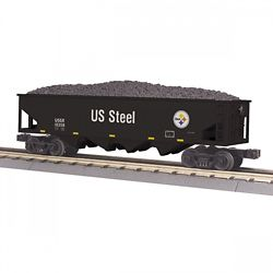 MTH 3075640 O-27 4-Bay Hopper USSTL