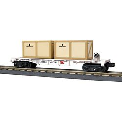 MTH 3076704 O Flat w/2 Crates LV 507-3076704 MTH3076704