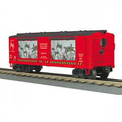 MTH 3079598 O-27 Operating BoxCar/Action Chesapeake Crabs